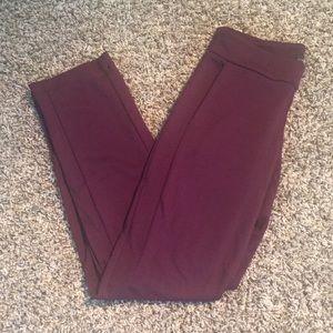 Simply styled straight legged dress pants